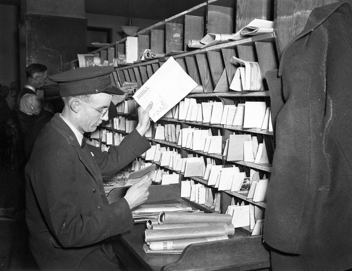 Postal Workers - Dominion Public Building, London, Ontario.