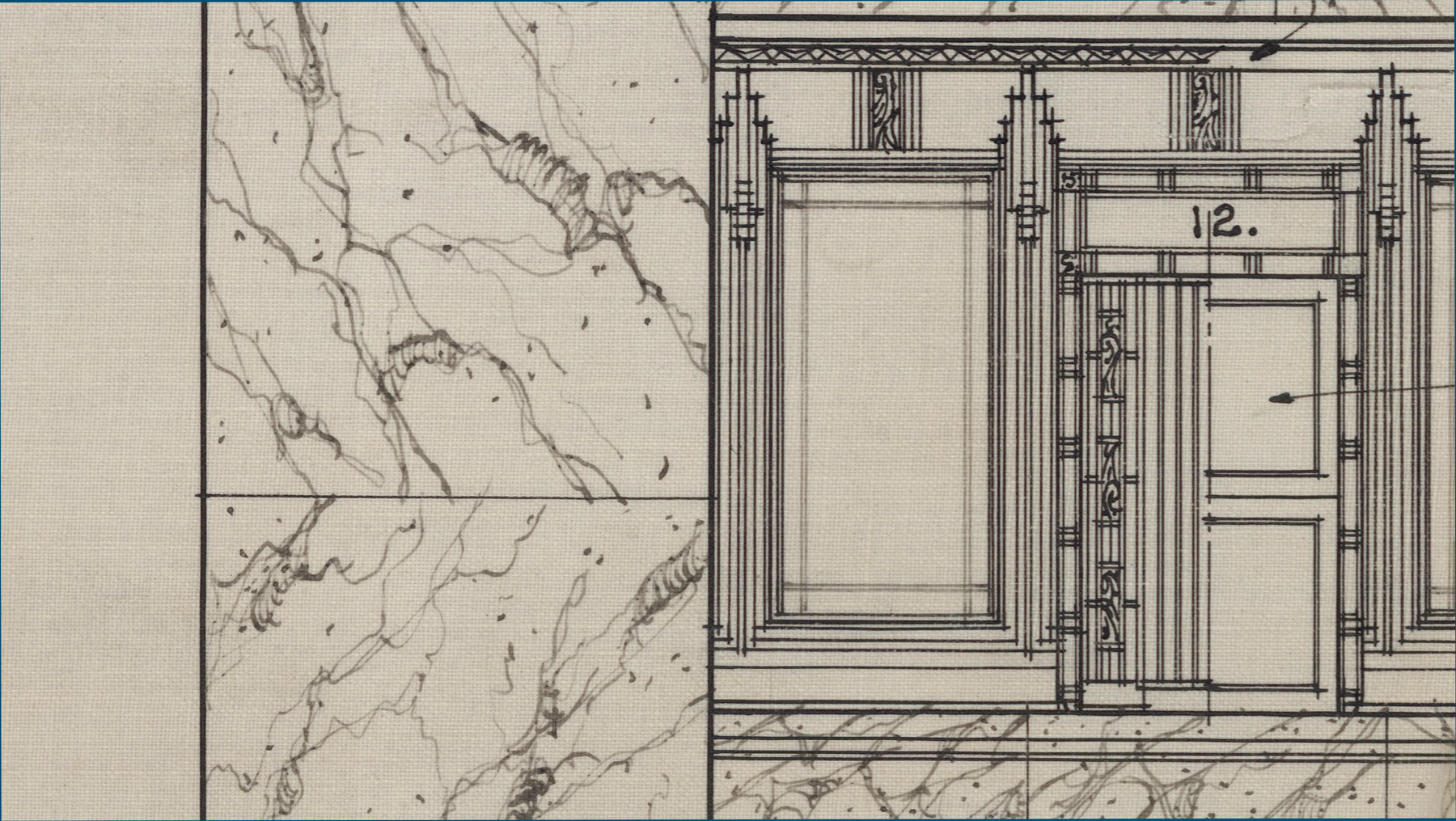 The Dominion Public Building: The Architectural Drawings - Details of Public Areas
